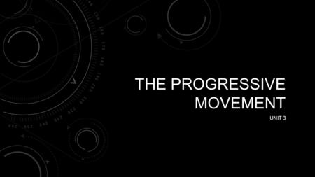 THE PROGRESSIVE MOVEMENT UNIT 3. PROGRESSIVISM UNIT 3.1 Progressivism Muckrakers Reforming Cities Reforming Society - NAACP Reforming the Workplace Reforming.