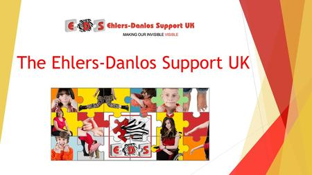 The Ehlers-Danlos Support UK. What will we be covering? What is Ehlers-Danlos syndrome How does it affect people day to day? Who are EDS UK Meet the team.
