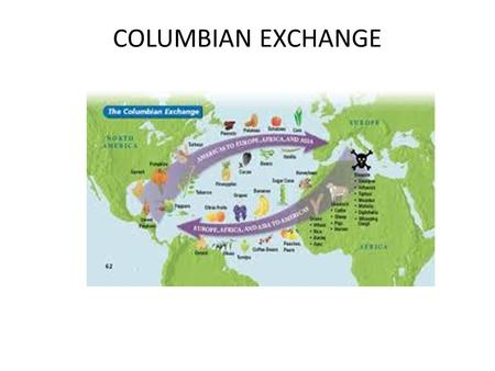 COLUMBIAN EXCHANGE. Diseases from the East From Eur. and Afr. to the Am.s Small Pox, measles, flu, chicken pox The Native Am.s had no immunities 1492-1650.