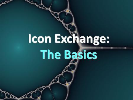 Icon Exchange: The Basics. What is PECS? PECS: Picture Exchange Communication System – Communication system for individuals with limited or no vocal repertoire.