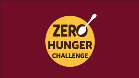 What is the Zero Hunger Challenge? -no person is hungry, -where every woman, child and man enjoys their right to food; -women are empowered; -priority.