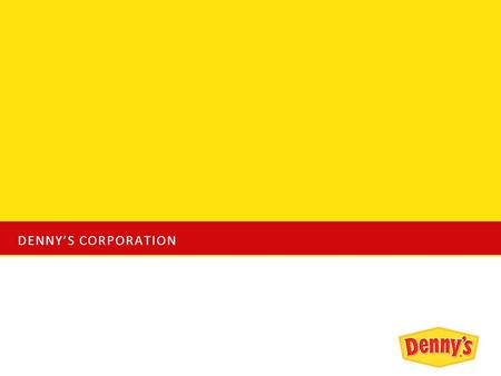 DENNY'S CORPORATION. Industry Analysis The full-service chain restaurant industry has become one of the key contributors towards the economic sector of.