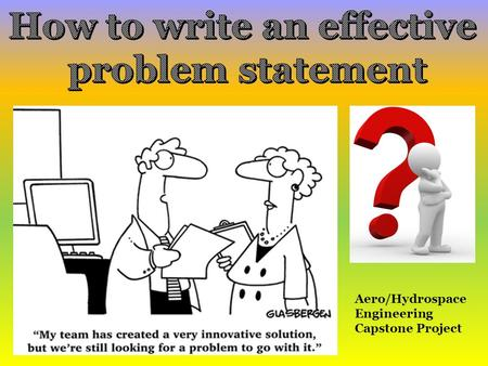 How To Write A Capstone Project