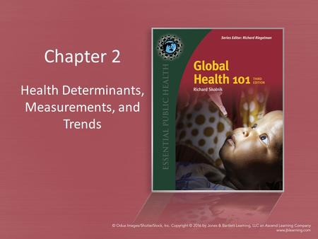 Chapter 2 Health Determinants, Measurements, and Trends.