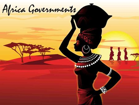 Africa Governments. How does a government's stability influence the lives of its citizens?