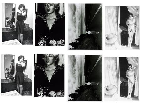 Cindy Sherman's Untitled Film Stills Untitled Film Stills is a series of sixty-nine black-and-white photographs made between 1977 and 1980. In them Sherman.