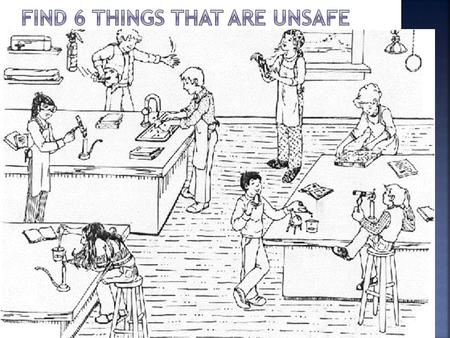  Hands-on experiences are essential to learning in science class, but safety must be the first concern!  The following rules exist for your safety.