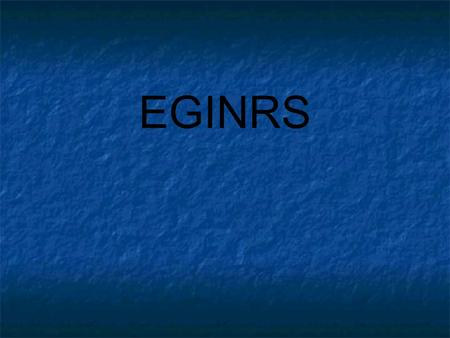 EGINRS. 2 WHAT BINGO STEM CAN BE CREATED FROM THIS ALPHAGRAM?