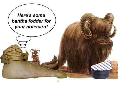 Here's some bantha fodder for your notecard!. General Equations: Momentum = Inertia in Motion p = mv Impulse = Change In Momentum I = Δp = (p f - p i.