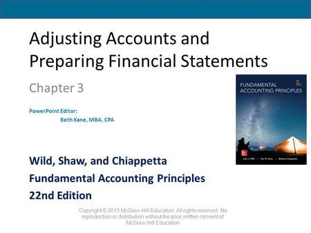 fundamentals of accounting essay