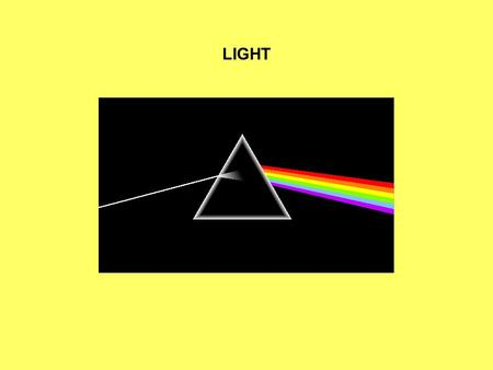 LIGHT. LIGHT HAS WAVE PROPERTIES. THE TYPE OF LIGHT IS CHARACTERIZED BY WAVELENGTH – THE DISTANCE FROM ONE PEAK TO THE NEXT. LIGHT ALSO HAS PARTICLE PROPERTIES.