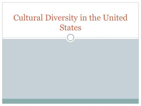 the problems of diversity in the society of the united states The importance and benefits of diversity may 14 the encouragement of diversity benefits society and more within-culture conversation and language problems.