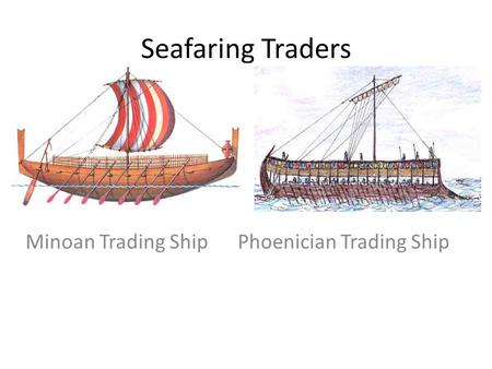 Phoenician trading system