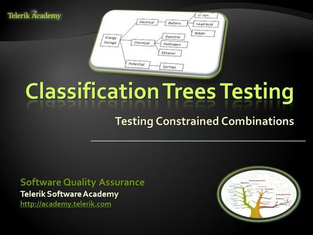 Testing Constrained Combinations Telerik Software Academy  Software Quality Assurance.