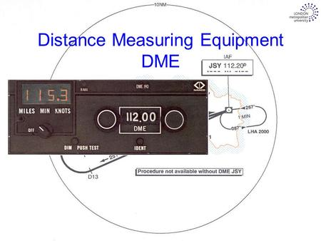 Distance Measuring Equipment DME