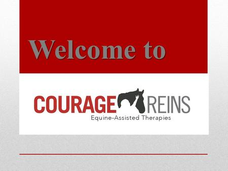 "Welcome to. About Courage Reins Courage Reins was founded in 1998 ""to improve the quality of life for people with disabilities, by providing a safe, fun."