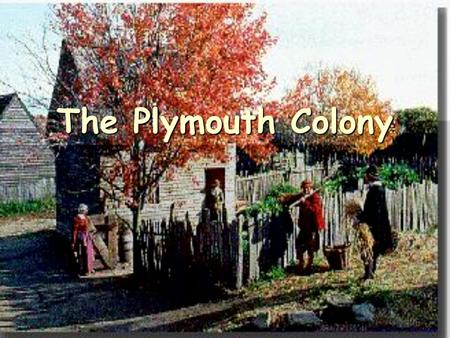 The Plymouth Colony. The New England Colonies Protestants, called Puritans, wanted to reform the Church of England. One sect wanted to separate from the.