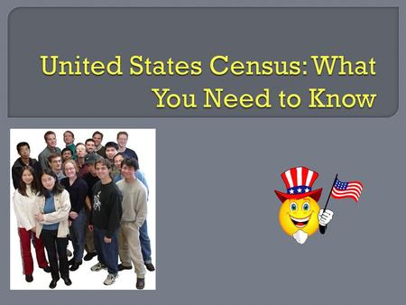  Article 1, Section 2 of the Constitutions states the census will begin in 1890 and be given every 10 years following that date  The purpose of the.