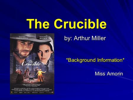 the tragedy initiated by abigail and the girls in the crucible The crucible by arthur miller deals with the contagious spread the paradox of the salem tragedy: in the crucible, abigail resents the way she was treated.