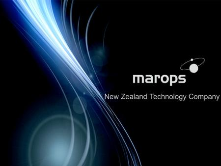 New Zealand Technology Company. NZ is a remote small market albeit with a huge maritime Economic Exclusion Zone - Antarctic to the Tropics We need your.