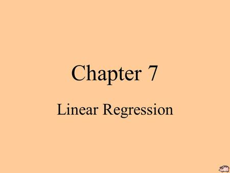 Chapter 7 Linear Regression. Bivariate data x – variable: is the independent or explanatory variable y- variable: is the dependent or response variable.
