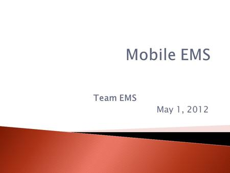 Team EMS May 1, 2012. The time period following traumatic injury, during which there is the highest likelihood that prompt medical treatment will prevent.