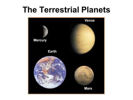 MERCURY The Innermost Planet. Conjunction Inferior ...