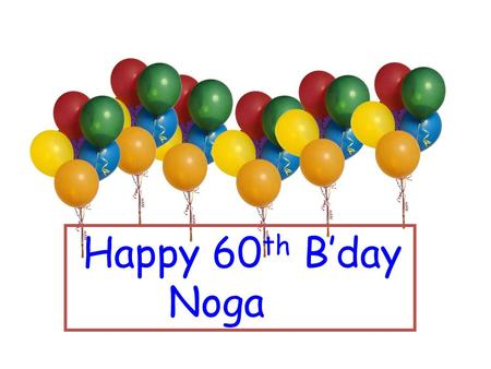 Happy 60 th B'day Noga. Elementary problems encoding computational hardness Avi Wigderson IAS, Princeton or Some problems Noga never solved.