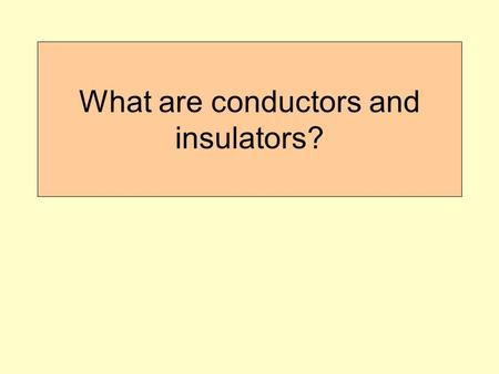 What are conductors and insulators?. Warm Up 1. In the diagram above, the water in the pan is changing from a liquid to a gas, or ____. a. Melting c.