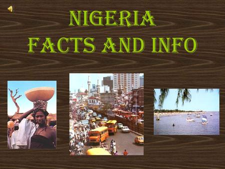 Nigeria Facts and info The Nigerian Flag The flag consists of three vertical bands of green, white, and green.