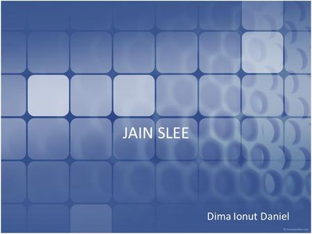 JAIN SLEE Dima Ionut Daniel. Contents What is JAIN SLEE? Basic Concepts – Resource Adaptor – Activity/ActivityContext – Events – Services – SBB – Deployable.
