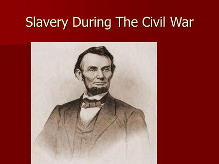 "Slavery During The Civil War. William Lowndes Yancey American southern political leader and ""fire-eater"" who, in his later years, consistently urged the."