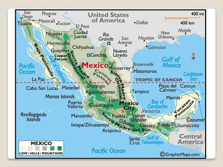 Lesson 42 The Rest of Mexico U.S. Influence Main trading partner – U.S. Lands won in the Mexican War We used marines to chase down Pancho Villa in.