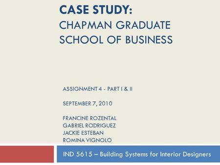 solved case studies for mba finance The case of the case study method business school case studies given over the two-year mba understanding of how problems come about and are solved in.