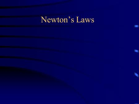 "Newton's Laws. Achieving Scientific Literacy (Arons Article) Two types of knowledge –Declarative (Learned Facts, ""book knowledge"") –Operative (actually."