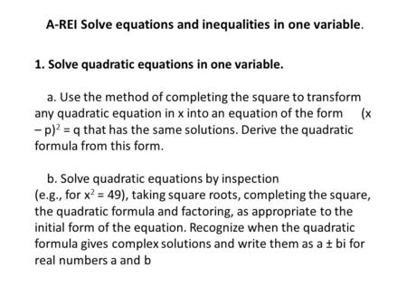 how to find roots when you have two variables