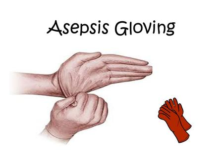 Asepsis Gloving. When to Wear Sterile Gloves Sterile gloves should be worn when there is direct contact with other sterile supplies and equipment Sterile.