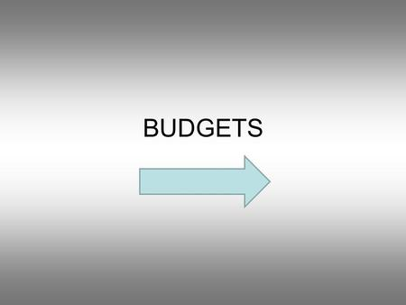 BUDGETS Question 1 What is the purpose of a budget? An objectiveCheap commodity Excess money Plan that outlines costs and revenue.