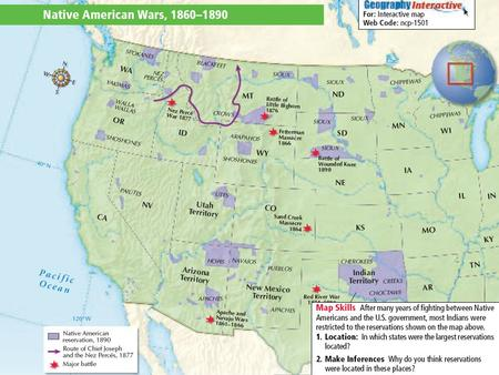 * The West Web * Buffalo Soldiers Buffalo Hunters Hydraulic Miners Cattle Ranchers Homesteaders Transcontinental RR Laborers.