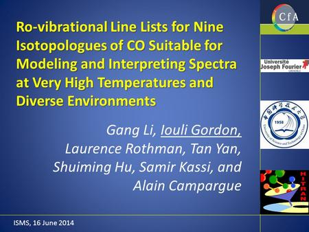 Ro-vibrational Line Lists for Nine Isotopologues of CO Suitable for Modeling and Interpreting Spectra at Very High Temperatures and Diverse Environments.