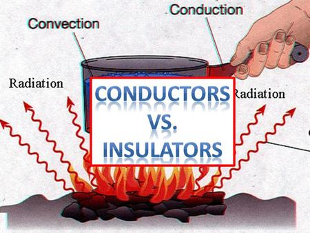 Conductors vs. Insulators.