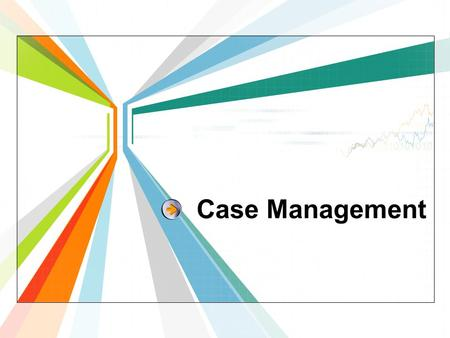 Case Management. What? Who? Why? Areas of activities 4 1 2 3 Contents.