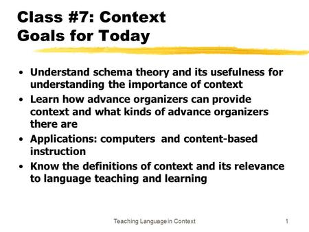 schema theory usefulness for language teaching In the english language teaching, schema theory is important relevance in the teaching of listening and reading skills tags: cognitivism learning theories.