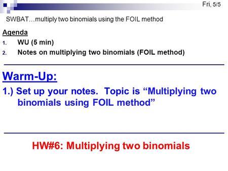 2-03 Polynomial Equations