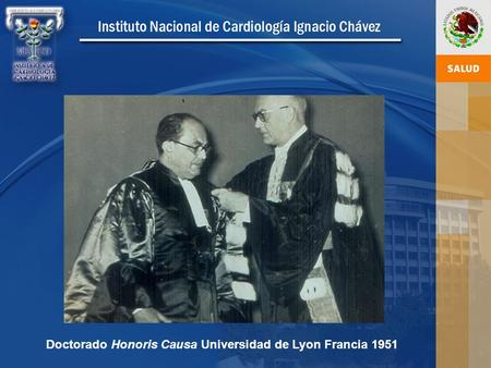 Doctorado Honoris Causa Universidad de Lyon Francia 1951.