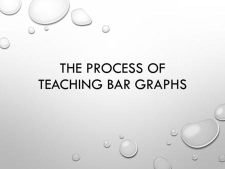 THE PROCESS OF TEACHING BAR GRAPHS. STUDENT PAGE CONSTURCT A BAR GRAPH WEB-QUEST DESIGNED BY GROUP 2 MEMBERS TITLE INTRODUCTION TASK PROCESS EVALUATION.