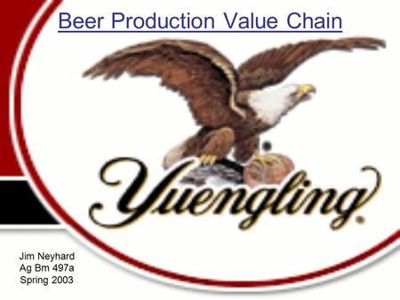 Beer Production Value Chain