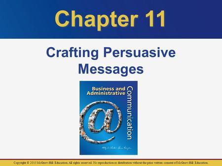 persuasive business messages