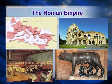 The Roman Empire. Brief History (625 BCE - 23 BCE) Rome (as a city) founded circa 625BCE The Roman Republic (510 BCE - 23 BCE) lasted for over 500 years.