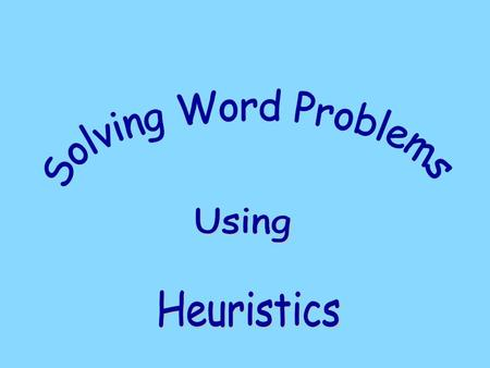 Thinking skills are skills used in solving mathematical problems, such as classifying, comparing, sequencing, analysing parts and wholes, identifying.